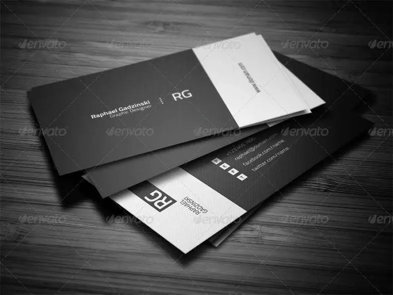 9+ Minimal Personal Trainer Business Card Designs  Templates - PSD