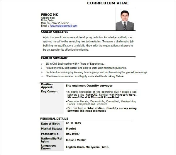 9+ Drafter Resume Templates - PDF, DOC Free  Premium Templates