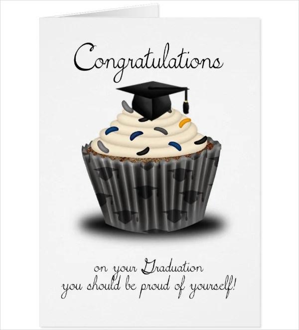 14+ Graduation Congratulations Card Designs  Templates - PSD, AI