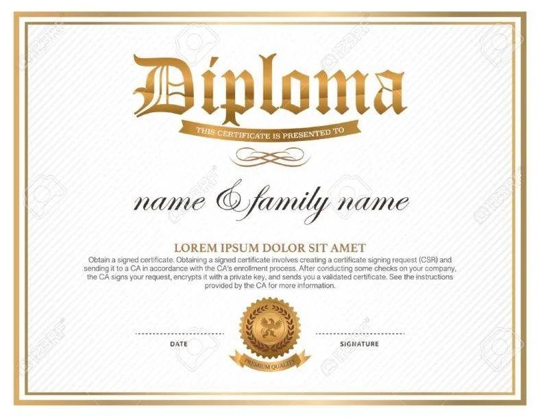 formato de diplomas de honor