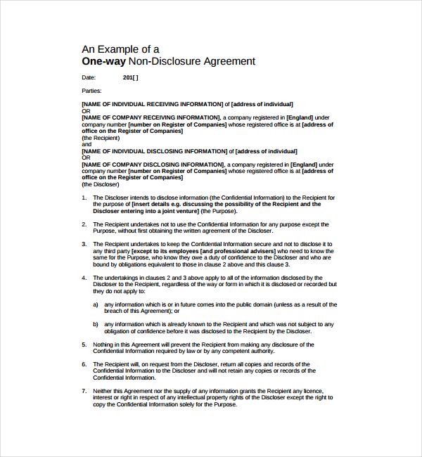 3+ Confidentiality Agreement Templates - PDF Free  Premium Templates