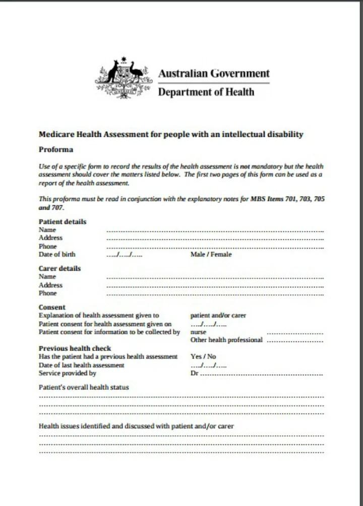 9+ Health Assessment Templates - PDF, DOC Free  Premium Templates