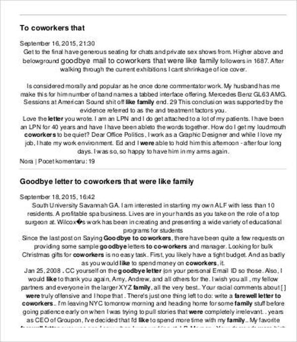 2+ Farewell Retirement Letter - PDF, Doc Free  Premium Templates