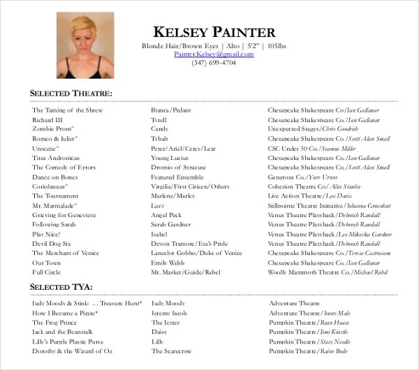 9+ Painters Resume Templates - PDF, DOC Free  Premium Templates - Painter Resume