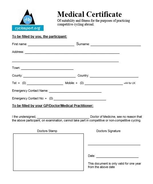 how to write medical certificate sample
