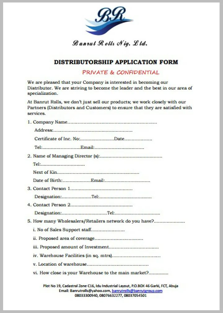hiring form template