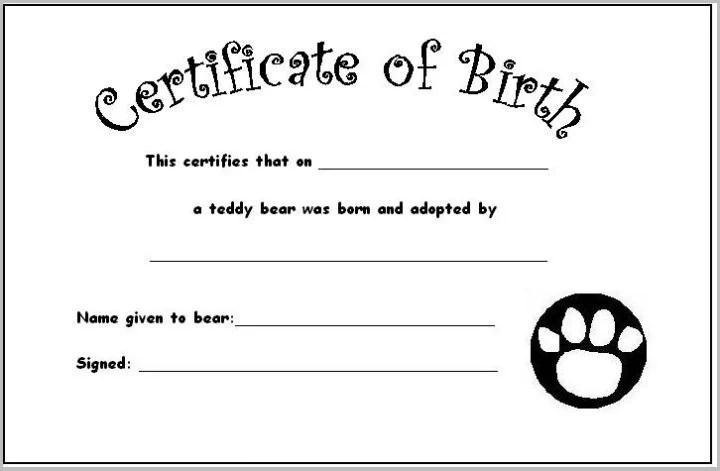 12+ Pet Birth Certificate Designs  Templates - PDF, PSD, AI Free