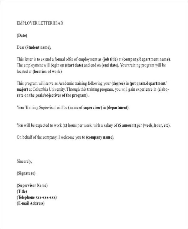 How To End A Formal Request Letter Letter Template Requesting Leave