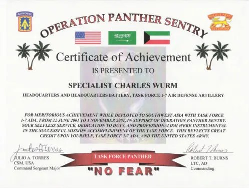 6+ Army Appreciation Certificate Templates - PDF, DOCX Free - army certificate of appreciation template