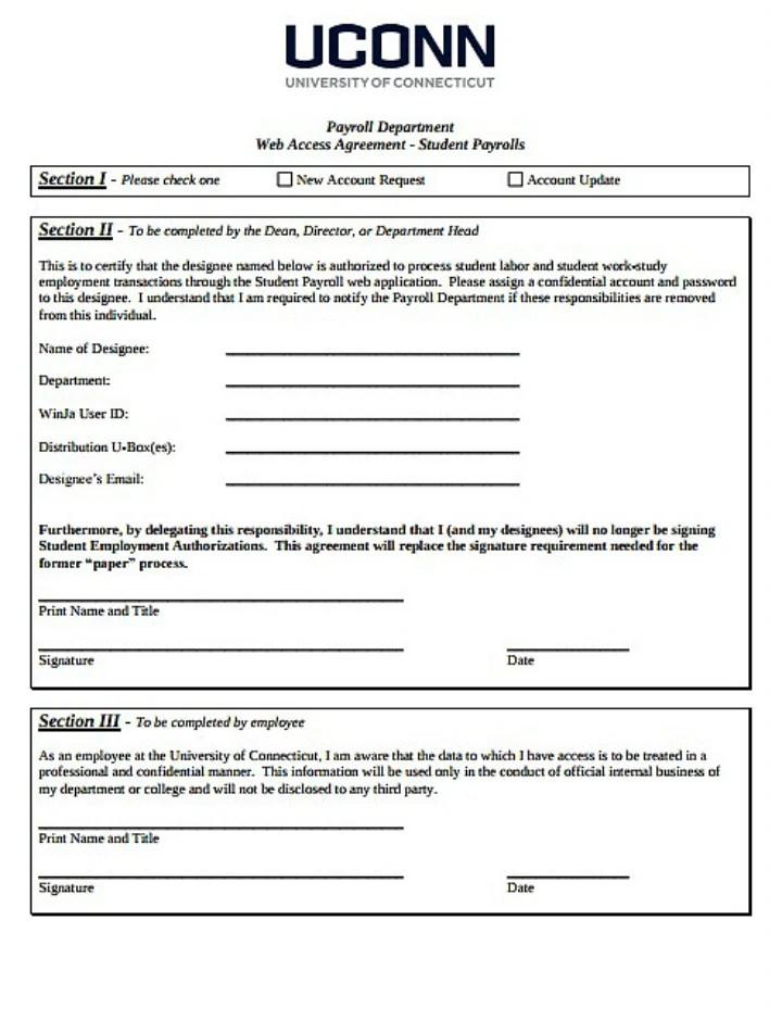 10+ Employee Payroll Form Templates - PDF Free  Premium Templates - employee update form