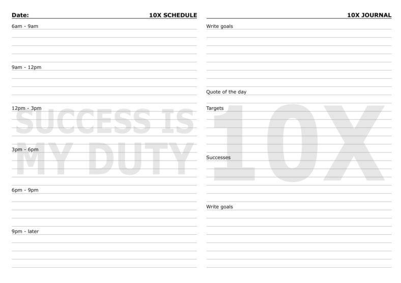 6+ Printable Bullet Journal Templates - PDF Free  Premium Templates