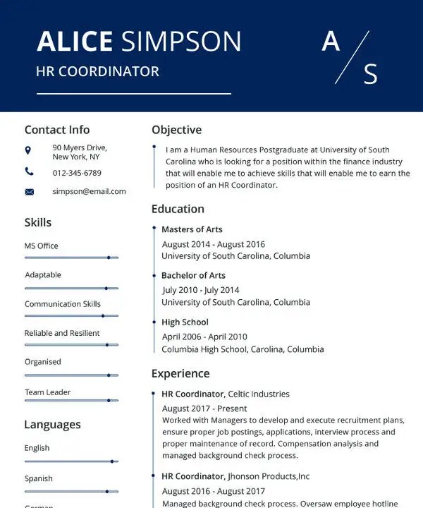 MAC Resume Template - 42+ Free Samples, Examples, Format Download - mac resume template
