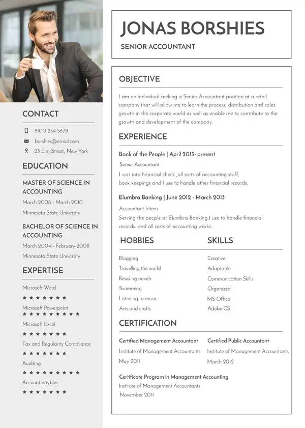 32+ MAC Resume Templates - Word, PSD, InDesign, Apple Pages Free