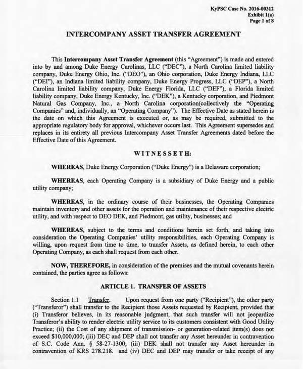 7+ Asset Transfer Agreement Templates - PDF Free  Premium Templates