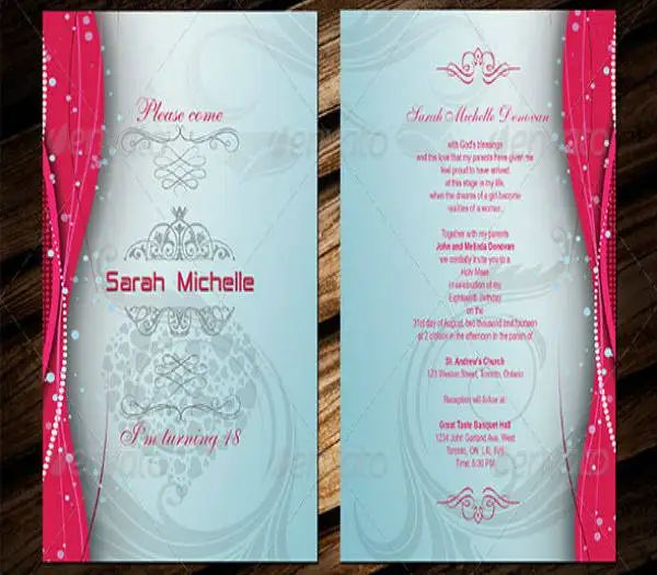 sweet 16 invitation templates
