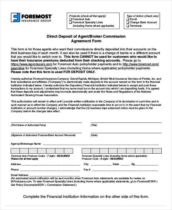 10+ Agent Commission Agreement Templates - PDF, DOC Free  Premium