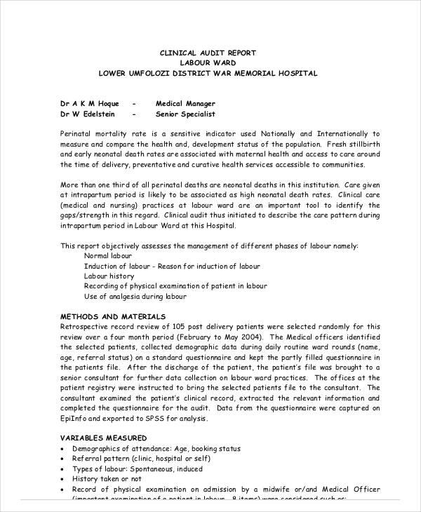 doctors medical report template - Pinarkubkireklamowe