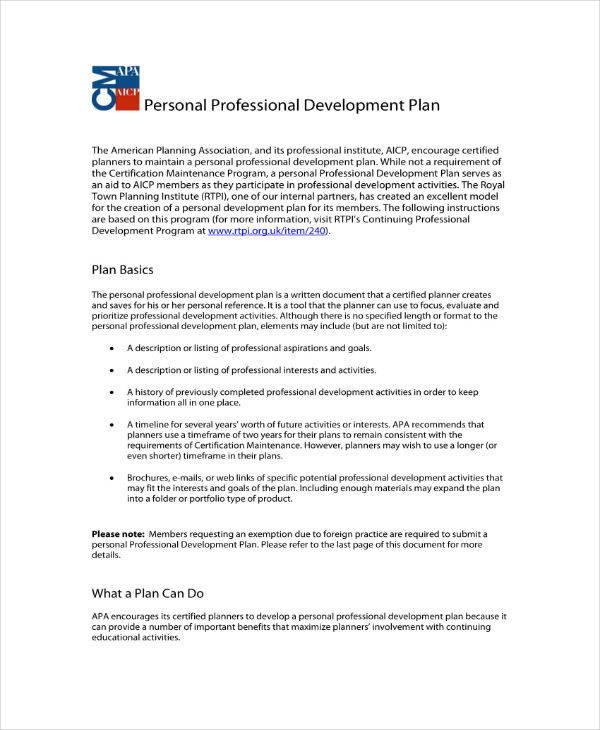 14+ Staff Development Plan Templates - PDF Free  Premium Templates