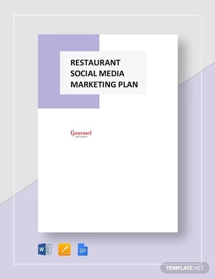 10+ Social Media Marketing Plan Templates - Free Sample, Example