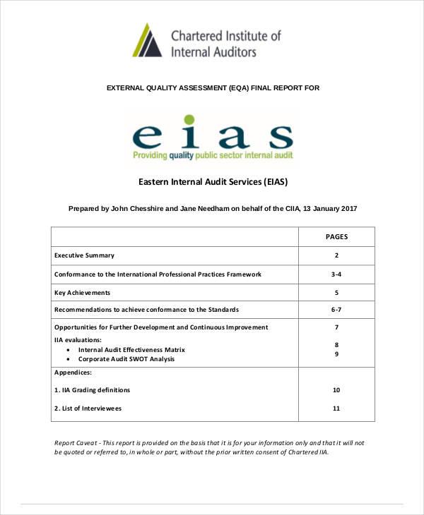 9+ Internal Audit SWOT Analysis Templates - DOC, PDF Free
