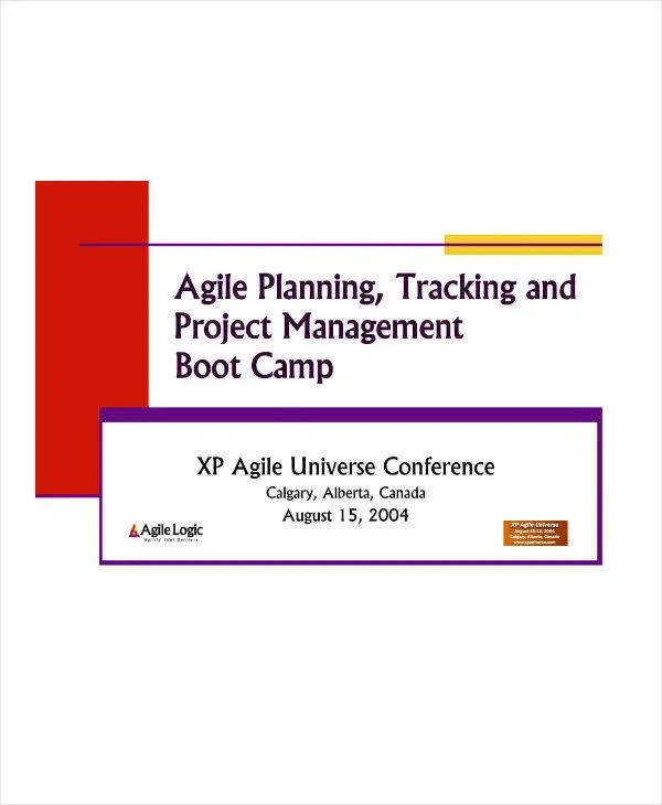 8+ Agile Project Plan Template and Samples - PDF Free  Premium