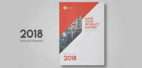 16+ Annual Report Cover Designs  Templates - PSD, AI, Word Free