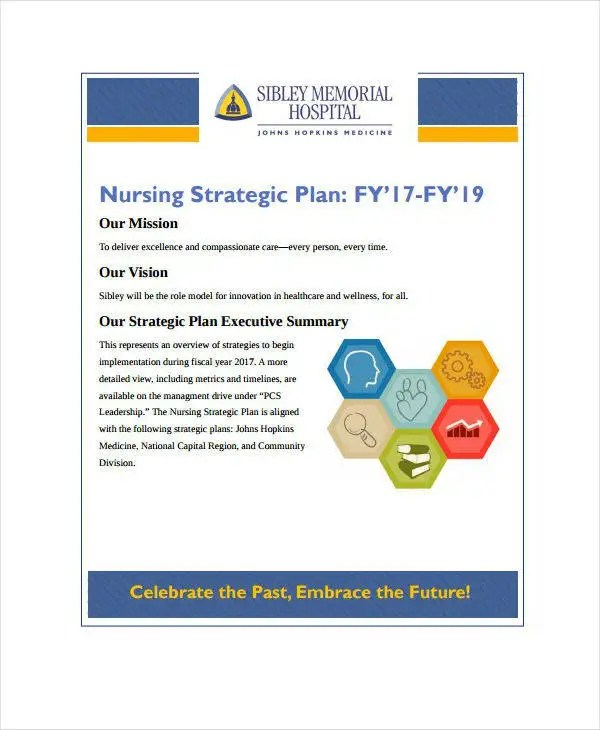 9+ Nursing Strategic Plan Templates - PDF, DOC Free  Premium