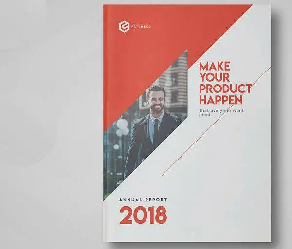year report template