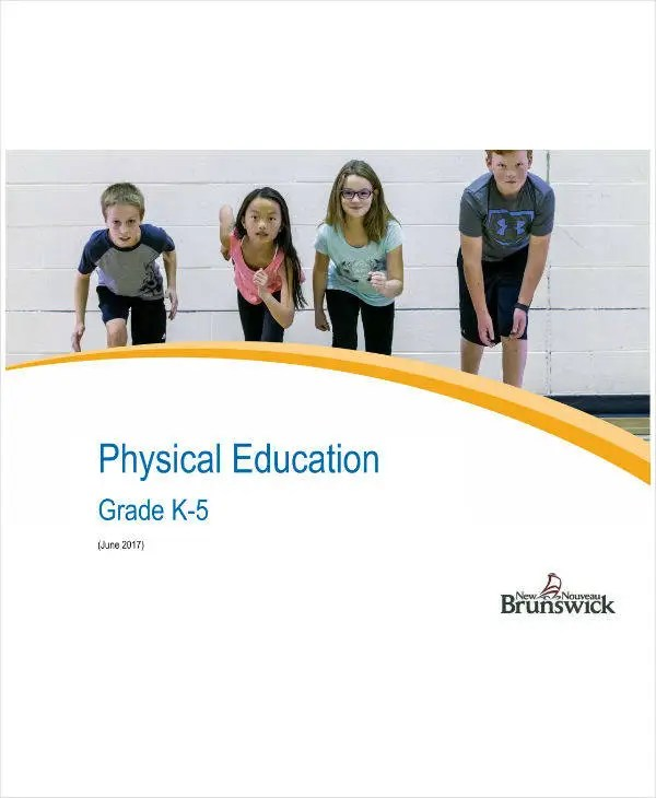 7+ Physical Education Lesson Plan Templates - PDF, Word Free