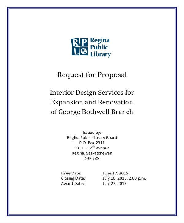 7+ Interior Design Proposal Templates - PDF Free  Premium Templates - interior design proposal template