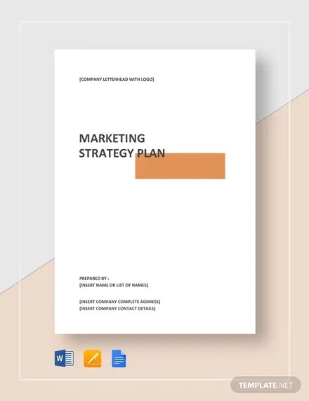 Marketing Strategy Template - 13+ Free PDF, Word Format Free