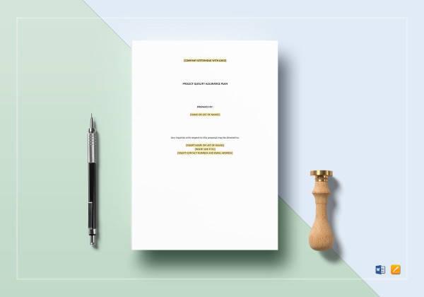 11+ Project Quality Assurance Plan Templates - PDF Free  Premium