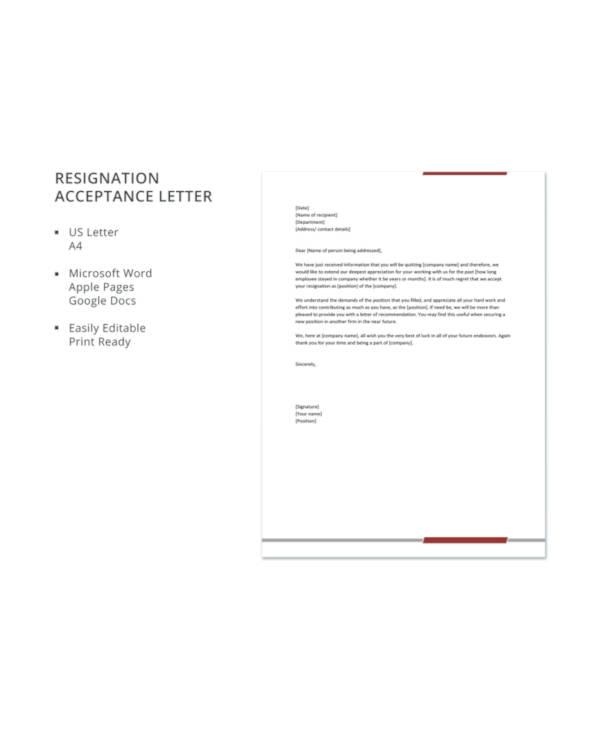 Resignation acceptance letter j dornan 16 acceptance letters free sample example maxwellsz