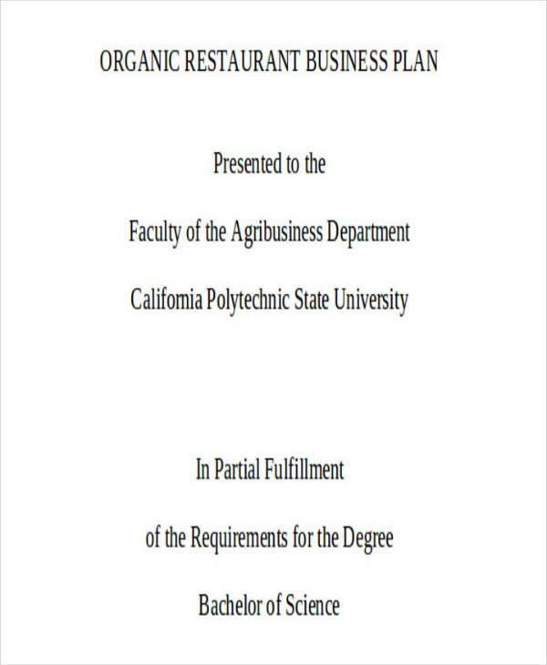 2+ Restaurant Service Plan Templates - PDF Free  Premium Templates