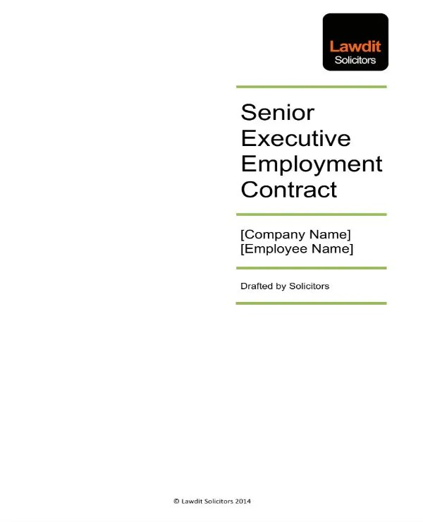 3+ Executive Employee Agreement Templates - PDF Free  Premium