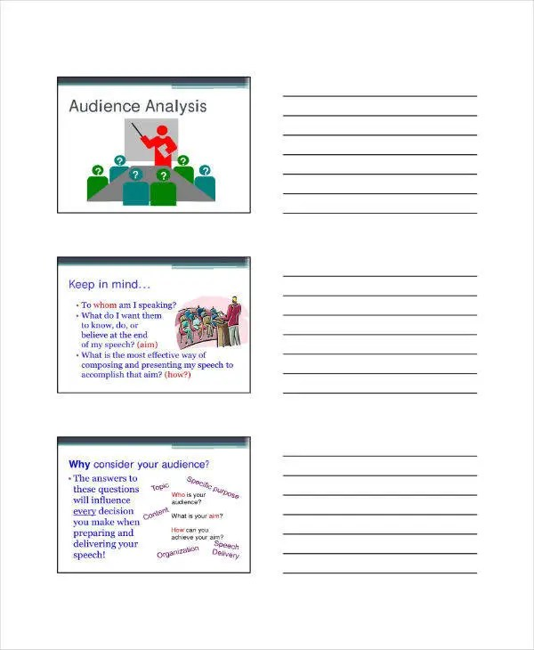 7+ Audience Analysis Templates - PDF Free  Premium Templates