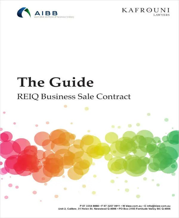 9+ Business Sale Contract Templates - Docs, Word, Pages Free