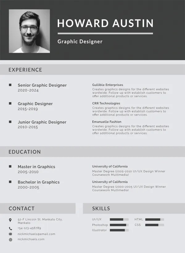 30+ Best Resume Formats - DOC, PDF, PSD Free  Premium Templates