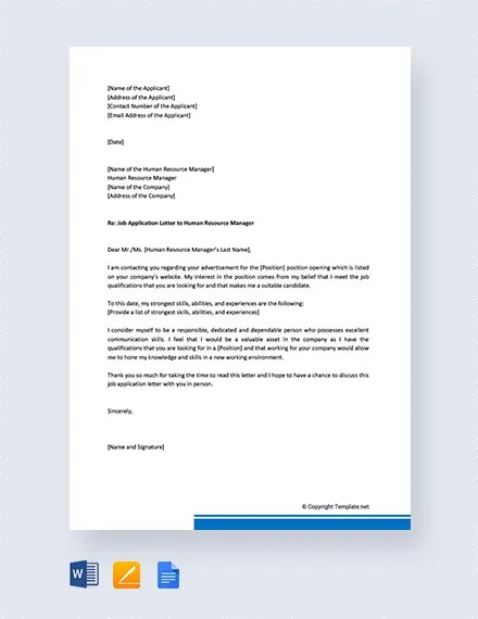 13+ Job Application Letters for Operations Manager - Free Sample