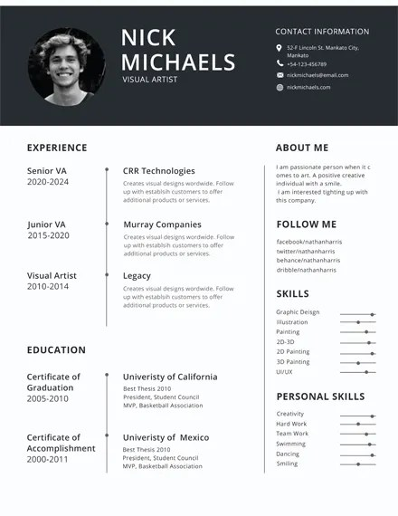45+ Download Resume Templates - PDF, DOC Free  Premium Templates
