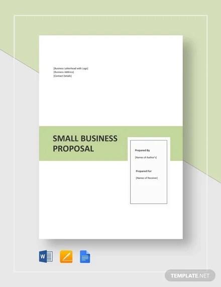 24+ Business Proposal Format Templates - PDF, DOC Free  Premium