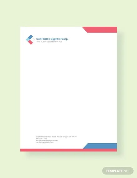 19+ Company Letterhead Templates - PSD, AI Free  Premium Templates