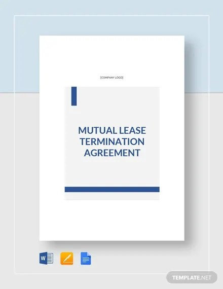 8+ Lease Termination Templates - Free Word, PDF Format Free