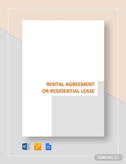 19+ Rental Agreement Templates - Free Word, PDF Format Download