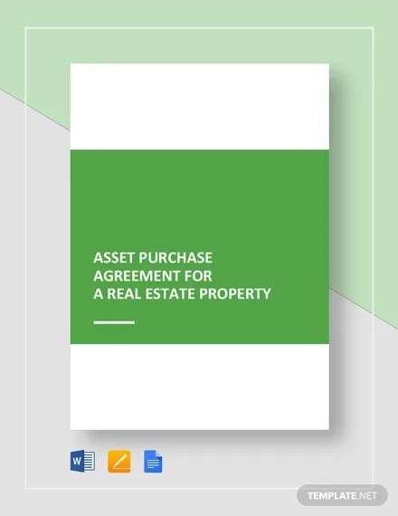 Asset Purchase Agreement - 11+ Free Word, PDF Documents Download