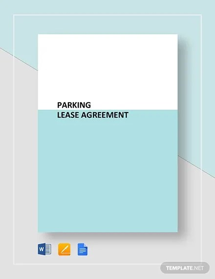 5+ Parking Lease Templates - Free Sample, Example, Format Free