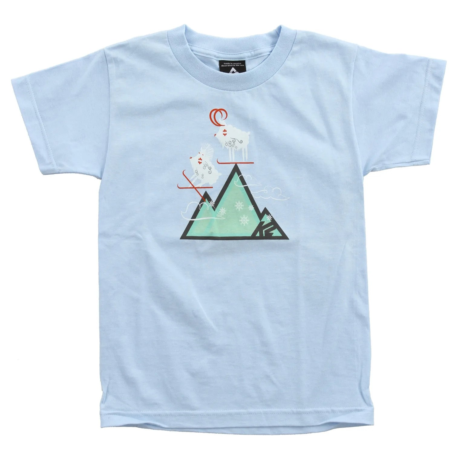 K2 Ski On Sale K2 Mountain Grom T-shirt - Girls Up To 60% Off