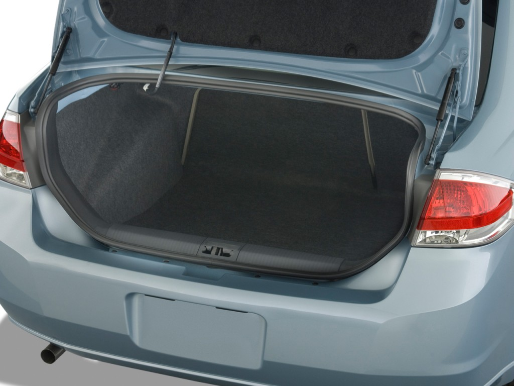 Trunk Capacity 2009 Ford Fusion
