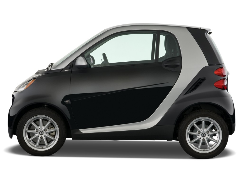 Two Door Cars Image 2009 Smart Fortwo 2 Door Coupe Passion Side