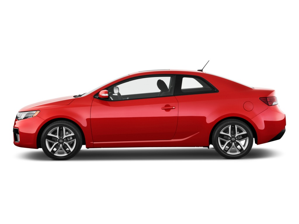 Two Door Cars Image 2010 Kia Forte Koup 2 Door Coupe Auto Sx Side